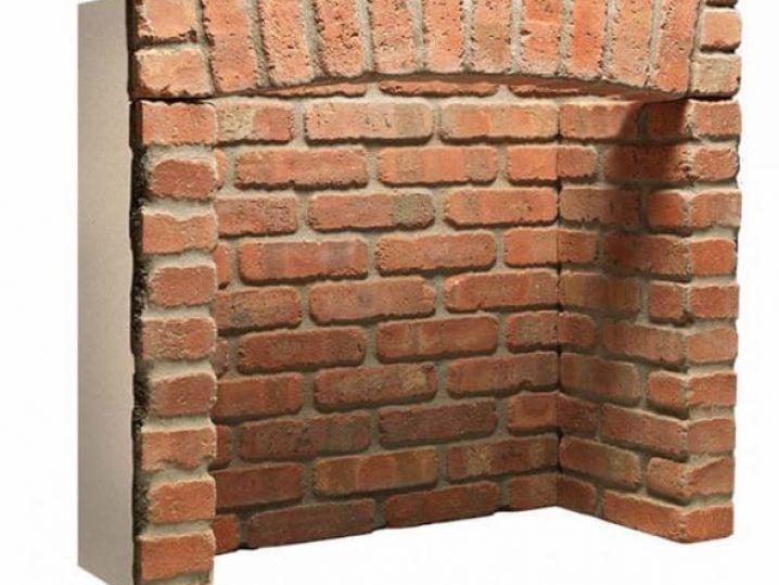 Rustic brick arch chamber